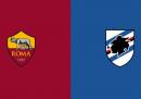 Dove vedere Roma-Sampdoria stasera in TV