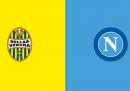 Dove vedere Verona-Napoli stasera in TV