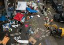 """La """"zona libera"""" di Seattle è stata sgomberata dalla polizia"""