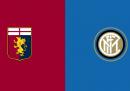Genoa-Inter, dove vederla in TV oggi