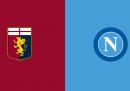 Dove vedere Genoa-Napoli in TV e in streaming