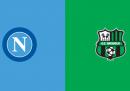Napoli-Sassuolo in TV e in streaming