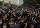 In Thailandia stanno continuando le proteste degli studenti contro il governo e contro il re