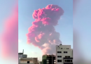 I video dell'enorme esplosione a Beirut, in Libano