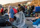 La situazione dei migranti sull'isola di Lesbo è sempre più difficile