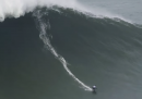 Maya Gabeira ha surfato l'onda più grande del 2020