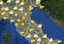 Le previsioni meteo per domani, sabato 12 settembre