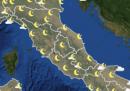 Le previsioni meteo per venerdì 18 settembre
