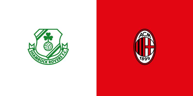 UEFA Europa League: Shamrock Rovers-Milan