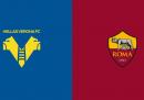 Hellas Verona-Roma, dove vederla in TV stasera