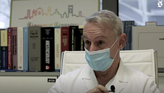 Intervista al capo delle terapie intensive di Bergamo