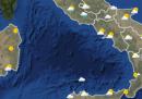 Le previsioni meteo per domani, domenica 11 ottobre