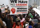 Le proteste contro le violenze della polizia in Nigeria