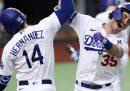 Los Angeles Dodgers e Tampa Bay Rays giocheranno le World Series del baseball