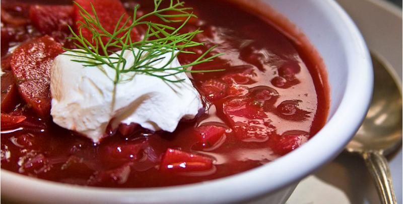La zuppa che fa litigare Ucraina e Russia
