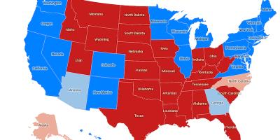La Cartina Degli Stati Uniti D America.La Mappa Della Vittoria Di Joe Biden Negli Stati Uniti Il Post