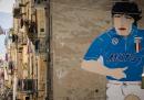 La storia dei famosi murales di Maradona a Napoli