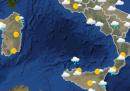 Le previsioni meteo per martedì 24 novembre
