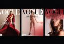 La copertina dell'edizione polacca di Vogue a favore delle manifestazioni sui diritti delle donne