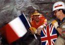 I 30 anni dall'incontro degli operai francesi e inglesi nel tunnel della Manica