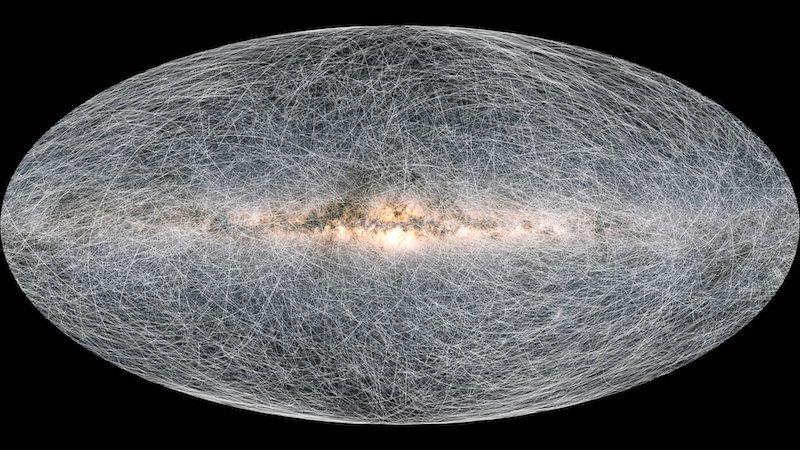 Abbiamo una nuova super mappa della Via Lattea