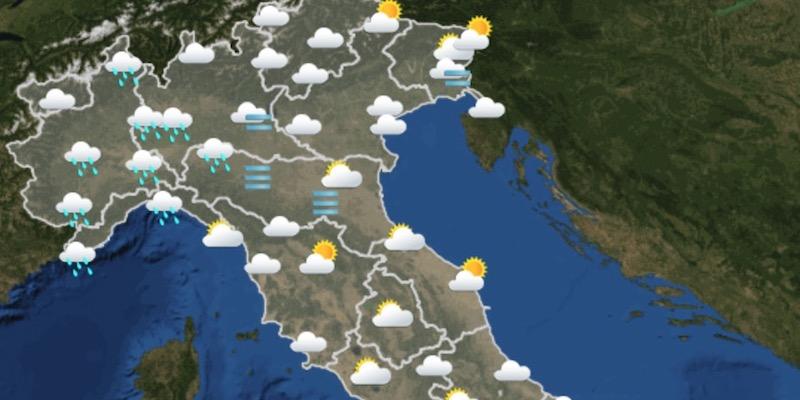 Meteo Italia Cartina.Le Previsioni Del Meteo Per Domenica 20 Dicembre Il Post