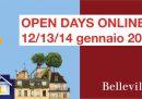 Tornano gli Open Days della Scuola Belleville