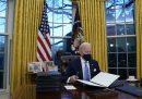 I primi dieci giorni della presidenza Biden