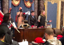 Un nuovo video girato da un giornalista durante l'attacco al Congresso