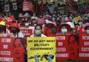La giornata più violenta delle proteste in Myanmar