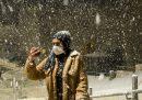 Le foto della neve in Medio Oriente