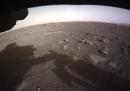 Le prime foto di Perseverance da Marte
