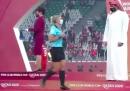 La criticata cerimonia di premiazione al Mondiale di calcio per club in Qatar