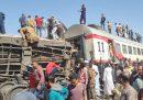 In Egitto almeno 32 persone sono morte e più di 60 sono state ferite in un incidente fra due treni