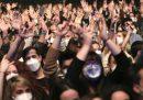 Il concerto con 5mila persone in un palazzetto di Barcellona