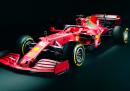 Le foto della nuova Ferrari SF21