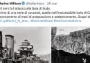 La Marina Militare sta celebrando attacchi e battaglie del regime fascista