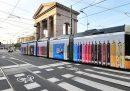 Tutto sui tram rivestiti di pubblicità
