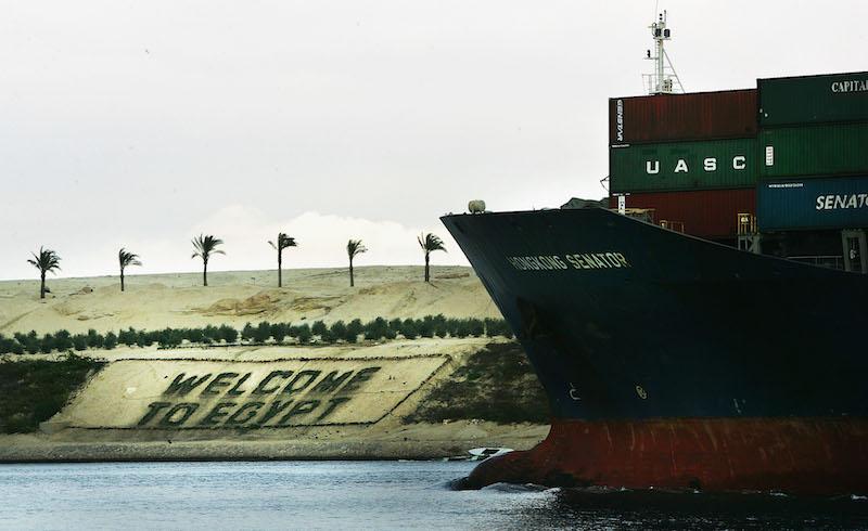 Com'è fatto il Canale di Suez