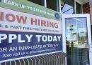 A marzo negli Stati Uniti le persone che lavorano sono 916mila in più