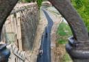 La nuova, commentata, pista ciclabile a Roma