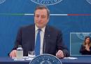 Che cosa ha detto Mario Draghi