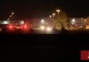 Almeno 8 persone sono state uccise nel corso di una sparatoria a Indianapolis, Stati Uniti