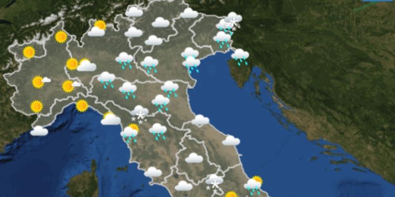 Cartina Meteorologica Dell Italia.Le Previsioni Meteo Per Martedi 13 Aprile Il Post