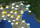 Le previsioni meteo di lunedì 19 aprile
