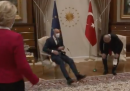 Erdoğan ha lasciato senza sedia Ursula Von der Leyen
