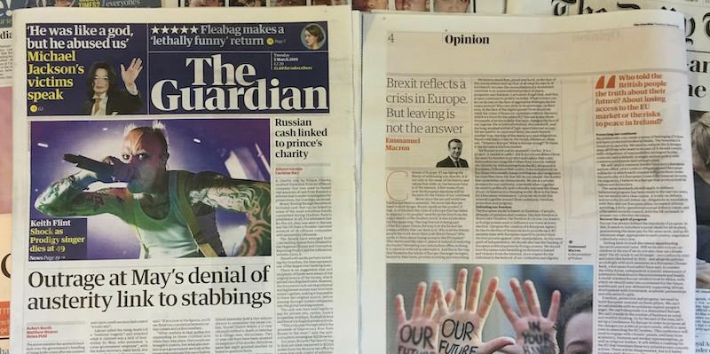 Il Guardian ha 200 anni