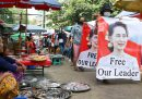 Aung San Suu Kyi ha fatto la sua prima apparizione pubblica dal colpo di stato in Myanmar
