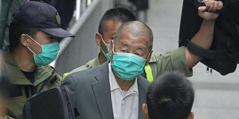 Image L'editore di Hong Kong Jimmy Lai è stato condannato ad altri 14 mesi di carcere
