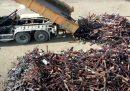 In Belgio hanno riciclato oltre 22mila armi fondendole per farne acciaio